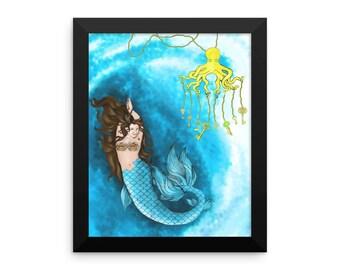 Keeper of The Sea Keys Framed poster