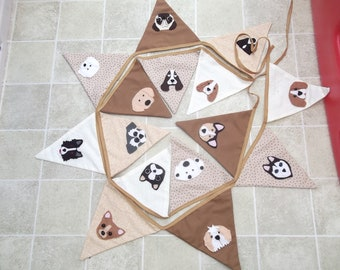 Dog bunting for dog lovers and dog grooming parlours