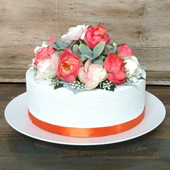 Flower Cake Topper Roses Birthday Flowers