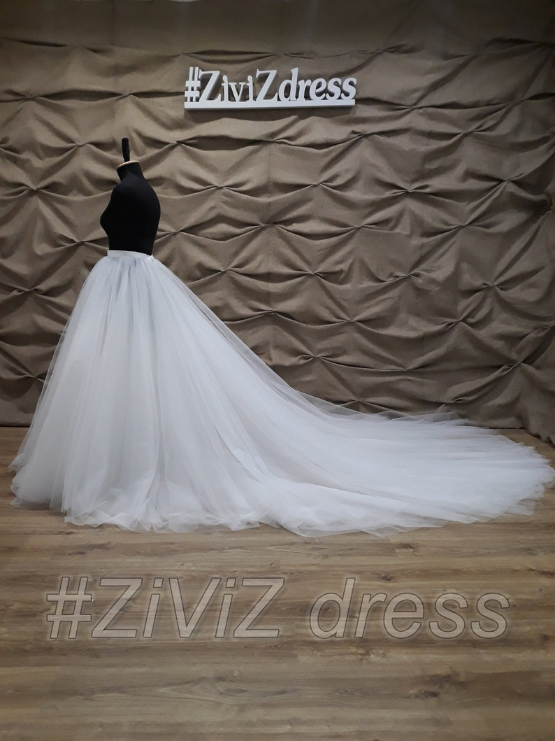 3641da0745 250 cm. 98 long 6 layers Wedding skirt Wedding   Etsy
