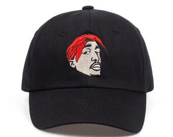 2Pac dad hat