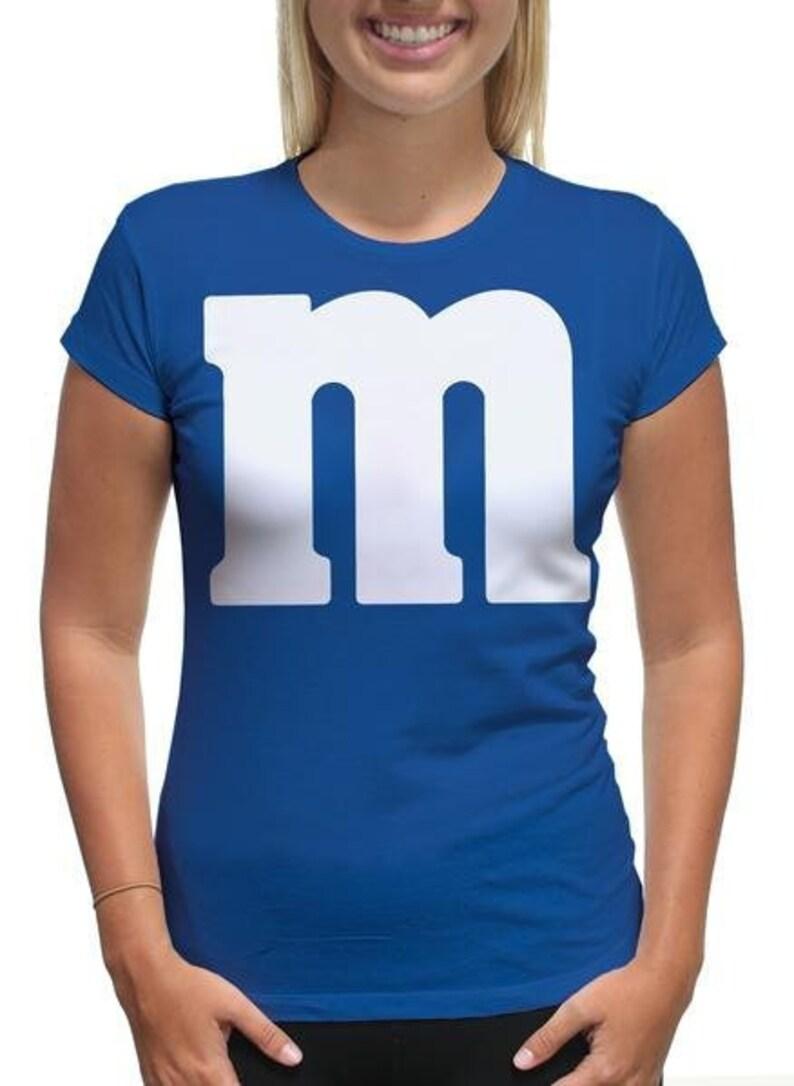 f7ba20821dd M M Halloween Shirt Chocolate Candy Halloween Costume Humor