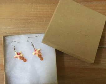 Starfish earrings!