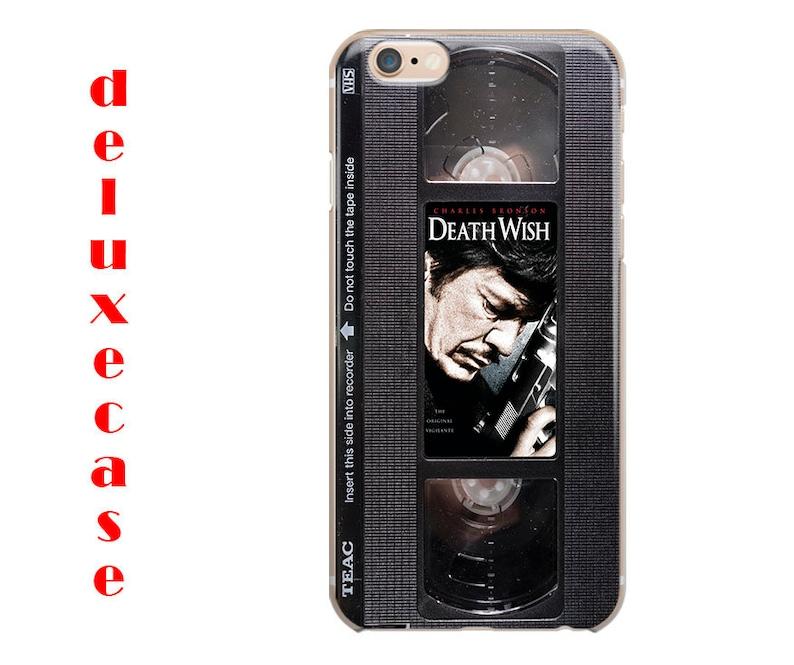 online store b6d0b d1744 retro VHS Death Wish iPhone Case iPhone XS Max case, iPhone 7 case, iPhone  XS Case, iPhone 8 Case, iPhone 6S Plus Case iPhone 7 Plus Case
