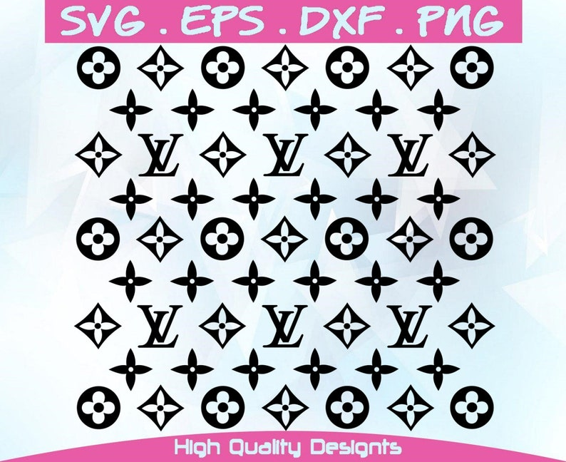 Inspired By Louis Vuitton 5 Colors Svg Dxf Eps Png Fashion Logo Svg Fashion Svg Cut Files Cricut Or Silhouette Or Cameo Digital