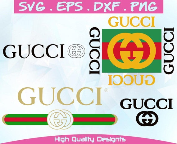INSPIRED BY Gucci svg, eps,png,dxf  Digital Prints, Vector Files, Cricut,  Download,silhouette,cricut, svg files