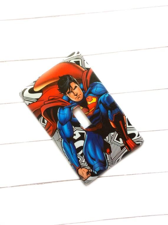 Superman Logo Light Switch Cover