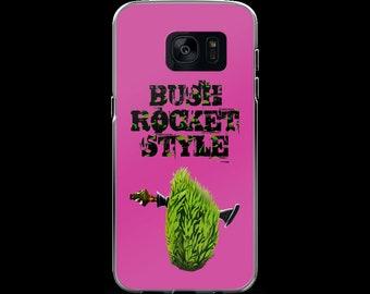 Bush Rocket Style Samsung Galaxy S7 & S7 Edge Pink Case