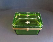 Antique Green Jewelry Hin...