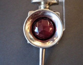 Rare Vintage Signed HAR Railroad Signal Lantern Brooch Pin As Found