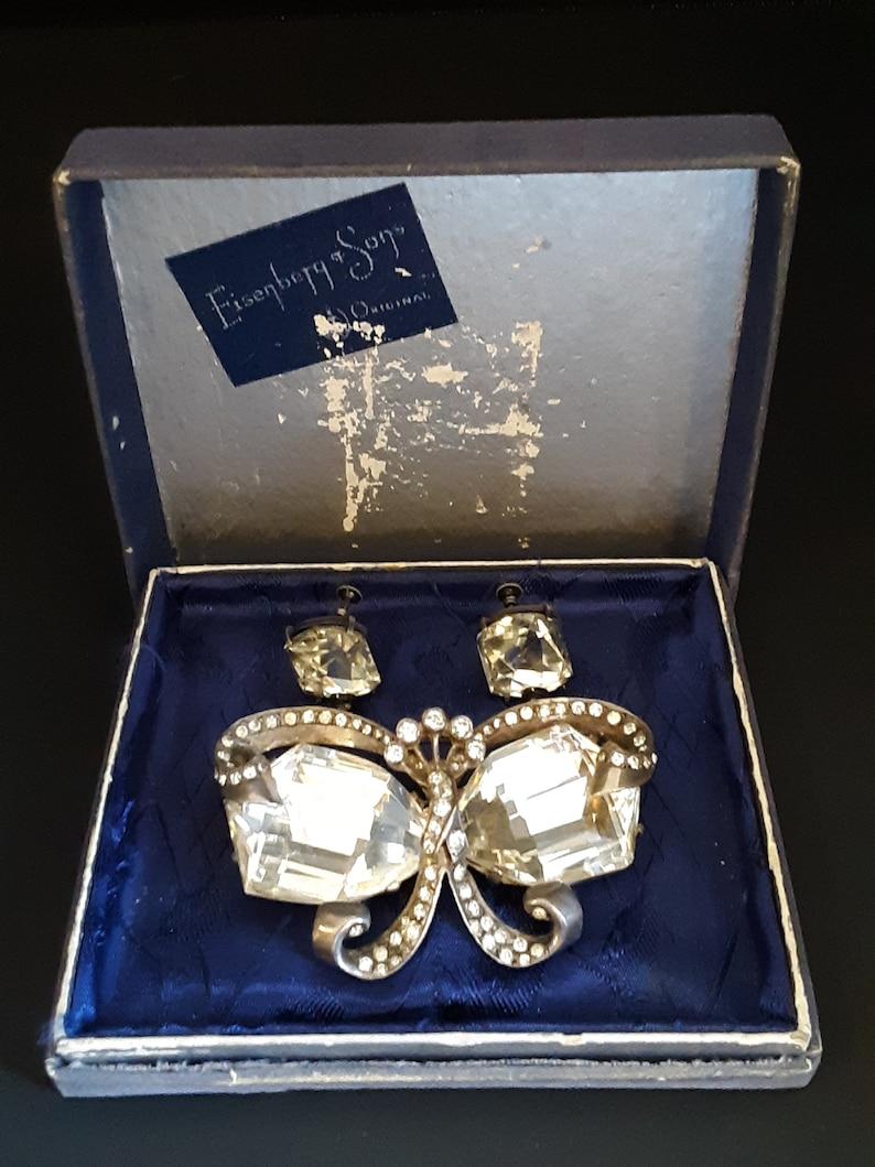 Vintage Eisenberg & Sons Original Sterling Silver Butterfly image 0