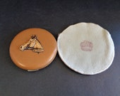 Unusual Vintage 1940's Mavco Compact with a Horse Head