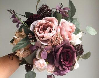 fall wedding bouquet etsy