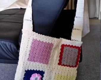 Crochet Handbag Granny Style