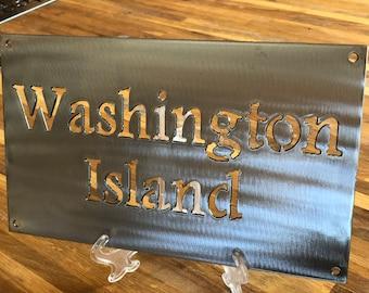 Door County  Series: Washington Island Metal Panel
