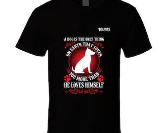Dog's Love T Shirt