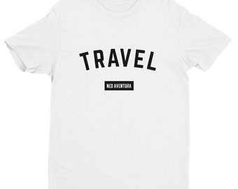Neo Aventura Travel Short Sleeve T-shirt - WHITE