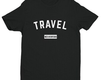 Neo Aventura Travel Short Sleeve T-shirt - MULTI-COLOR