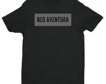 Neo Aventura Contrast Model Short Sleeve T-shirt Black