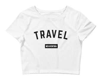 Neo Aventura Travel Women's Crop Tee