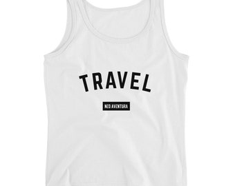 Neo Aventura Travel Ladies' Tank - WHITE
