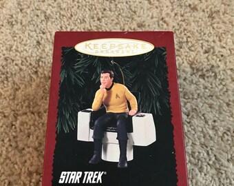 Hallmark Ornament Captain Kirk 1995 Star Trek
