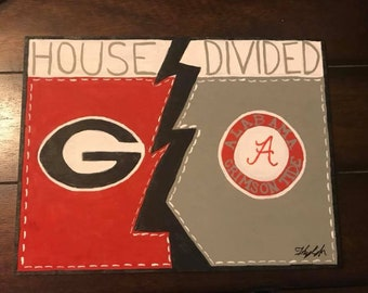 House Divided Signs Made to Order