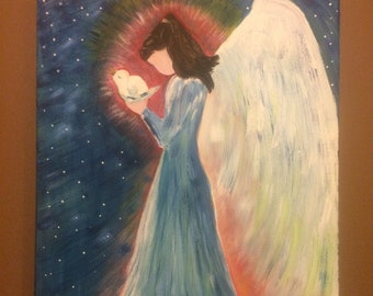 The Angel and Dove.