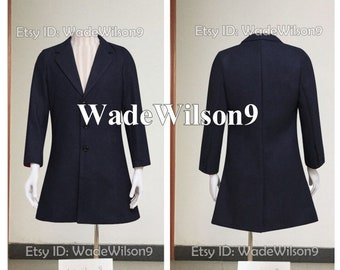 92da7d7be2434 Doctor Who Coat Suit Who is Doctor Twelveth 12th Dr Who Cosplay Costume  Handcraft Size