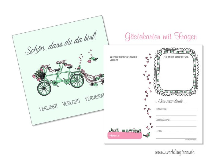 Guestbook Cards