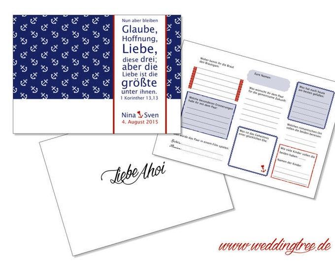 Gästebuch Hochzeit (PDF)