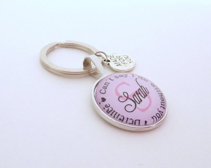 Gift Trauwitness, personalized keychain, gift girlfriend of the bride, keychain gift to wedding