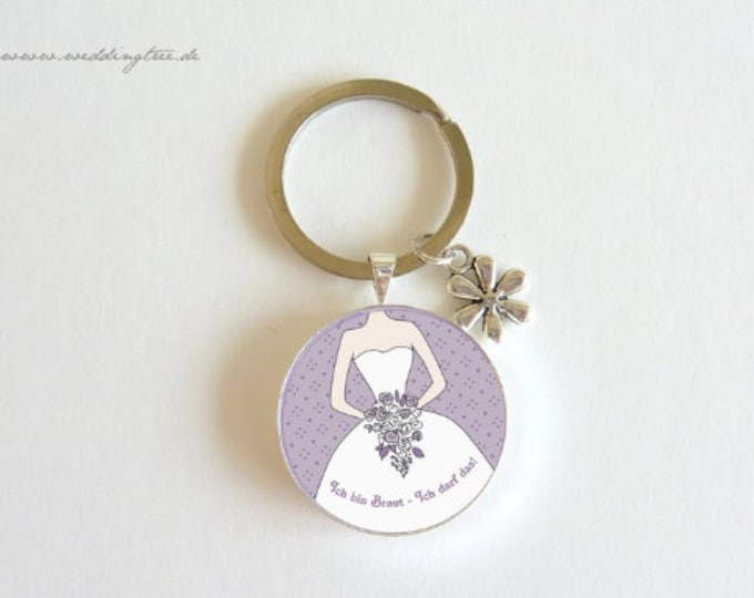 Pendant bride, individual keychain, keychain gift to wedding, bridal people, wife, bachelor's party