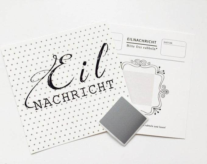 3 Scratch Cards Eilnachricht