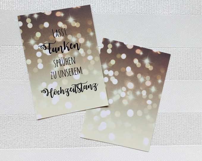 50 maps for sparklers wedding dance