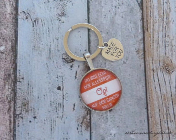 Opi pendant, keychain, best grandpa, grandfather, gift birthday, wedding, grandchildren, thank you, help, gift to pension, birth