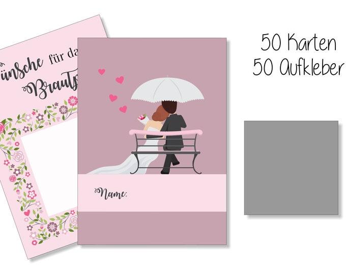 Wedding Games-Scratch cards-Guestbook wedding
