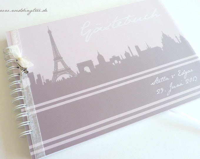 Wedding Guestbook, guestbook with questions, wedding guestbook, personalized guestbook for wedding, guest employment