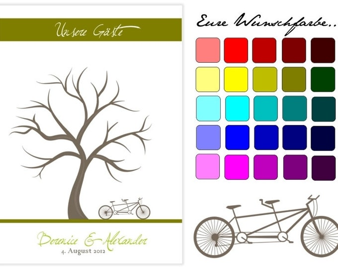 Stamp Me Wedding Tree Tandem (PDF)