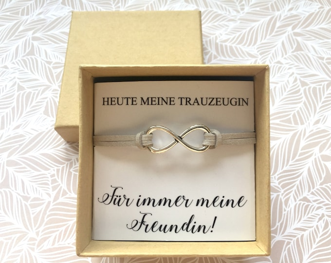 Gift maid bracelet with card and gift box