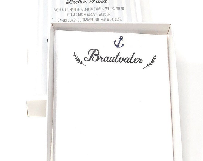 Wedding Gift Bridal father-handkerchief for tears of joy-father of the bride