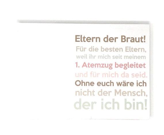 Hochzeitsgeschenk Buch Eltern Der Braut Erinnerungsalbum Etsy