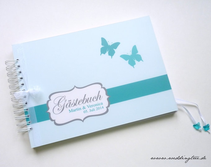 Guestbook Wedding with guest questions