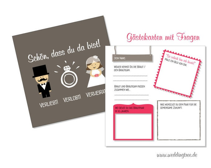 Guestbook Wedding Cards