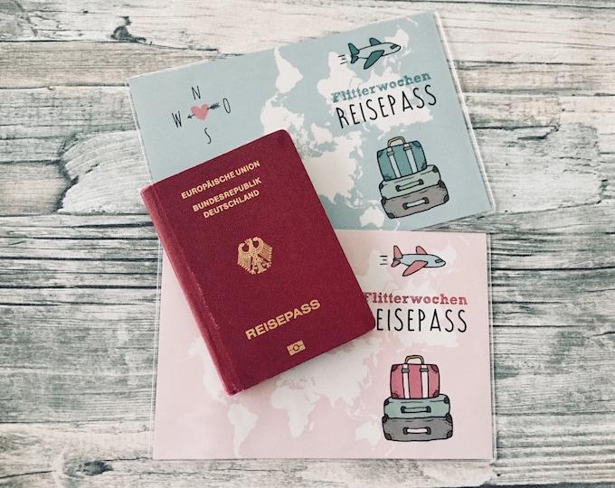 Passport covers for the honeymoon