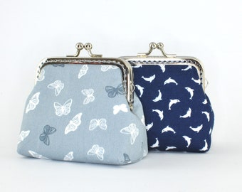 Clip Closure Bag | Butterflies or dolphins