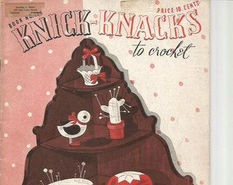 Knick-Knacks to Crochet 1939