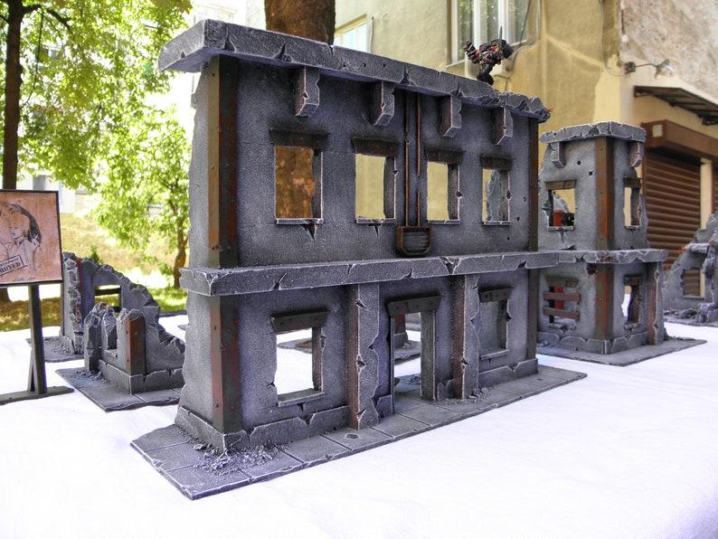 Warhammer 40K - Warhammer 40K Terrain - Imperial City Ruins