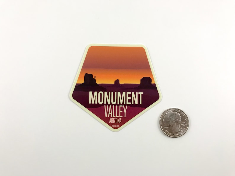 Water Bottle Laptop Car Decal Gift Idea   Grand Canyon Antelope Canyon Monument Valley Arizona Vinyl Sticker Set All 4