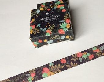 Tropical Masking Tape Tropical Washi Tape Planner Organizer 15mm kawaii Scrapbooking 7M Stickers
